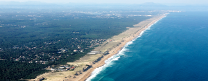 Les grandes plages de sable fin